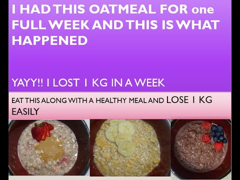 3-overnight-oatmeal-for-weight-loss|lose-1kg-in-a-week|-tasty-oatmeal-recipes