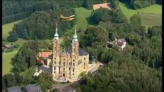 Franken im Freistaat Bayern aus der Luft 2012
