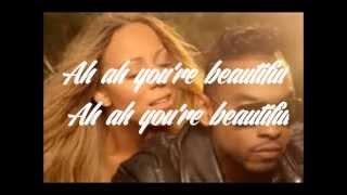 Mariah Carey ft. Miguel ~ Beautiful Lyrics