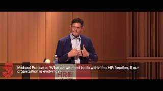 """Michael fraccaro discussed mastercard's commitment to its workforce and the steps they are taking now at june 2017 hr network breakfast """"facing futur..."""
