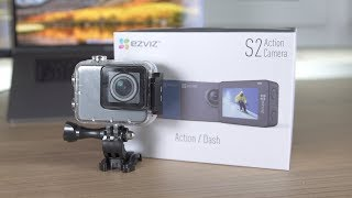 Günstige Actioncam mit Dashcam! EZVIZ S2 im Test! + Gewinnspiel