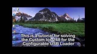 d2x cios installer configurable usb loader requirements cios 248 base 56 cios 247 base 57