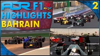 RACE LONG BATTLES - AOR F1 PS4 Championship S13 Rnd 2: Bahrain