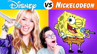 DISNEY songs vs NICKELODEON songs
