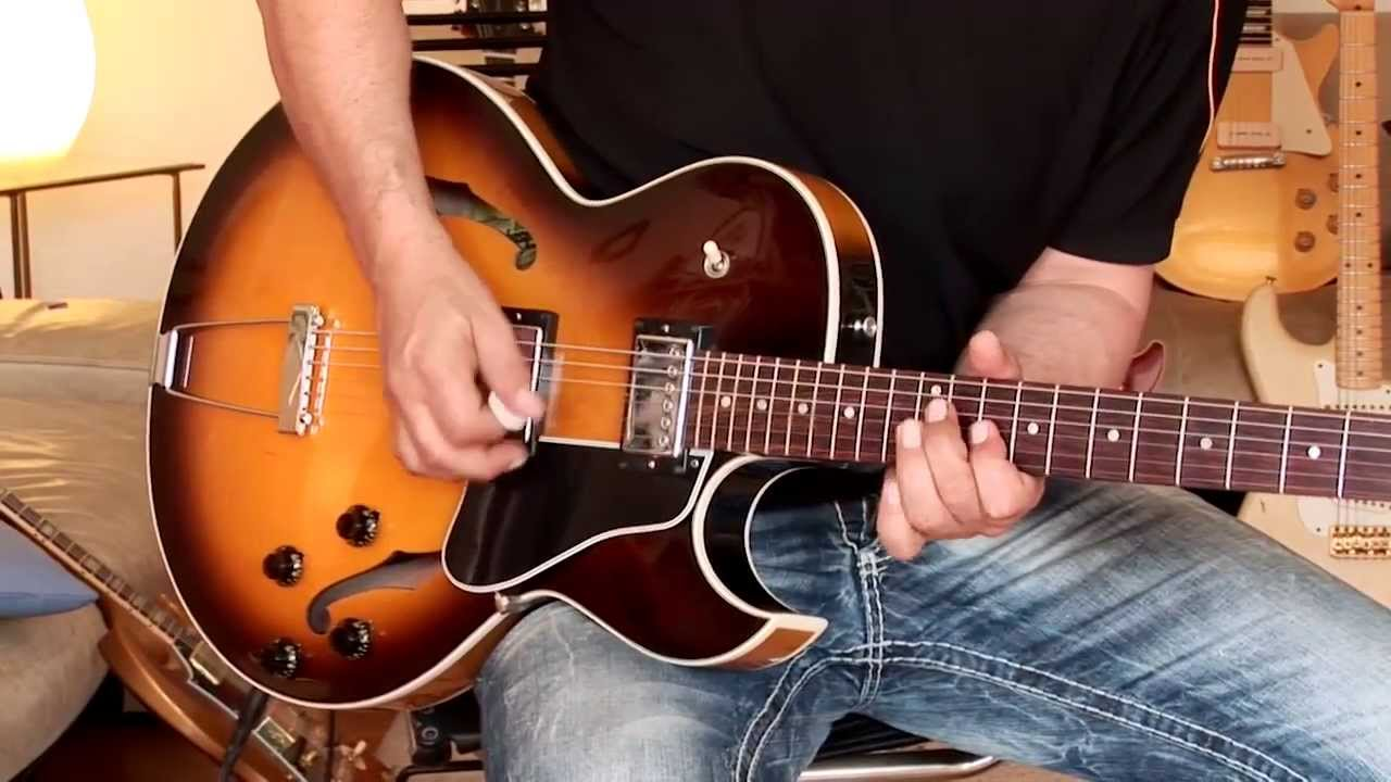 2000 Gibson Es 135 Limited Edition Youtube Les Paul Electric Guitar Cherry Starburst With Humbuckers