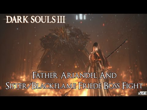 darksouls 3 how to get to sister frier