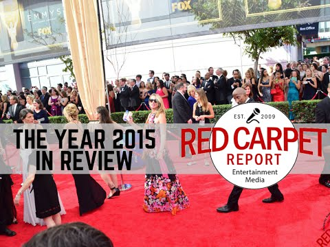 Watch Red Carpet Report's Year in Review - We're Celebrating 2015 w/ Photos & Host Intro Videos