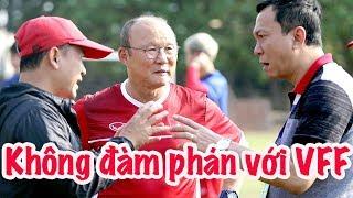 HLV Park Hang Seo không đàm phán với VFF - lịch vẫn chưa chốt   Vlog Minh Hải