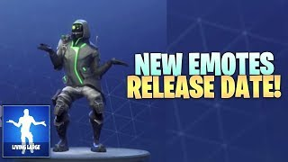"Fortnite UPCOMING Emotes Release Date! How To Get ""Intensity"" & ""Living Large"" Emotes!"