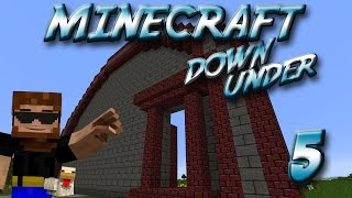 Minecraft Down Under Episode 5 - All Your Base Are Belong To ME!