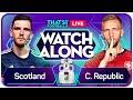 SCOTLAND vs CZECH REPUBLIC EURO 2020 Watchalong Mark Goldbridge & Rory Jennings