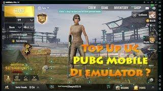PUBG Mobile (Emulator) - Isi UC cash PUBG Mobile di emulator ??, Kok bisa ???