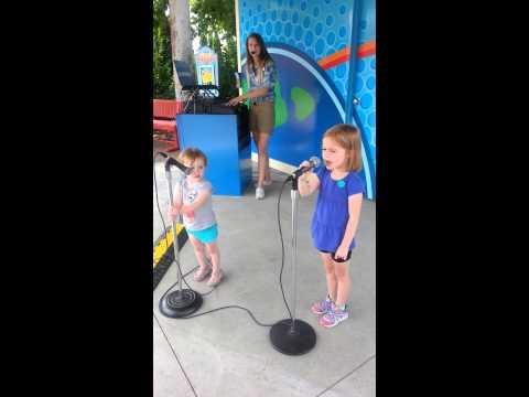 Let it Go karaoke at Cedar Point