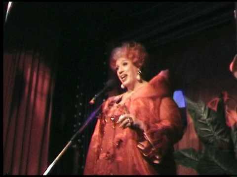 Cristina singt Zarah Leander  Pardon meine Damen