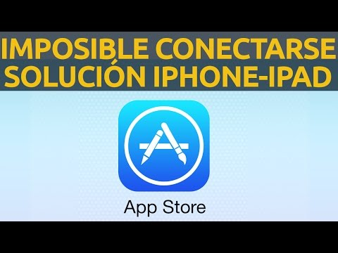 Imposible conectarse a App Store solución iPhone iPad iTunes Store mac