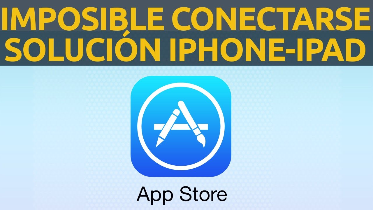 itunes y app store desactivado