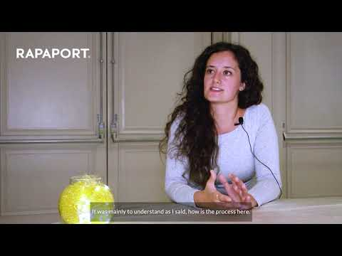 Valentina Molon's experience at Rapaport Surat Trade Mission