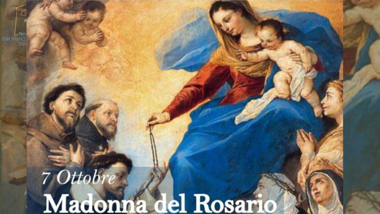 Mercoledì 7 Ottobre 2020 Madonna del Rosario (D. Franco Pagano) - YouTube