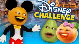 Annoying Orange - The Disney Challenge!