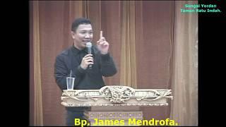 Khotbah Bpk. James Mendrofa 20 Januari 2019