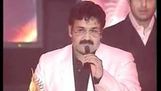 mohanlal IIFA AWARDS 2003....first and only malaayalam movie artist