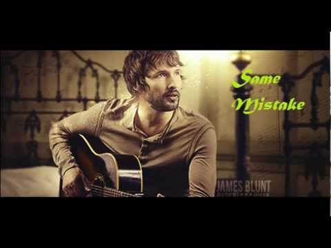 musica same mistake james blunt