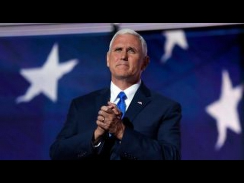 Vice President Pence says White House supports 'free and independent press'