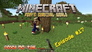 Minecraft Survival - How to Build a Giant Tree [17]