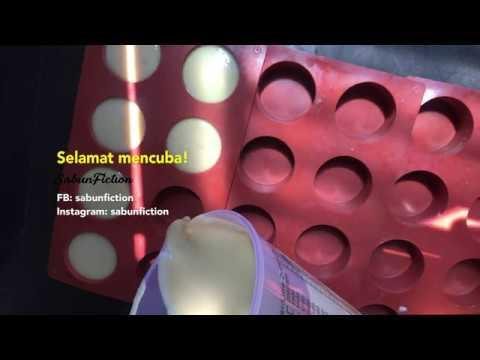 Sabun pelbagaiguna dari minyak masak terpakai (cold process)
