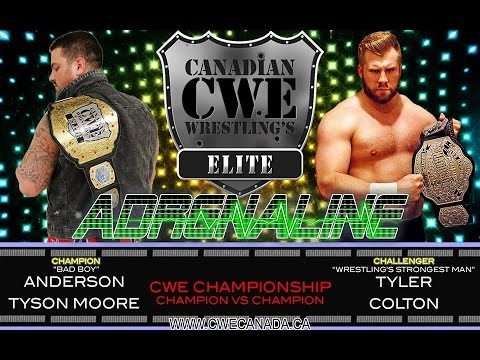 CWE Adrenaline episode 17: THE SHOWCASE OF CHAMPIONS!