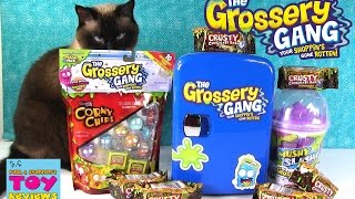 Grossery Gang Crusty Chocolate Bar Limited Edition Mushy Slushie 2 Pack Toy Opening | PSToyReviews