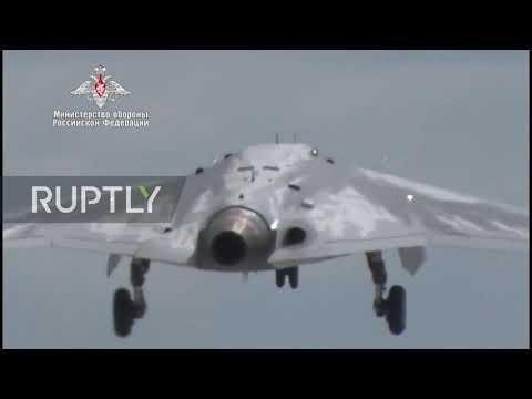 Russia: MoD's New Heavy Combat Drone Makes Successful Maiden Flight