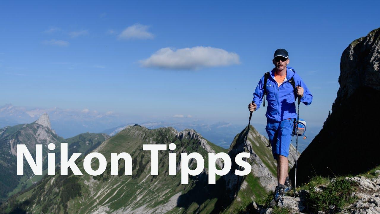 Nikon Tipps und Tricks zur Bedienung anhand der D7500