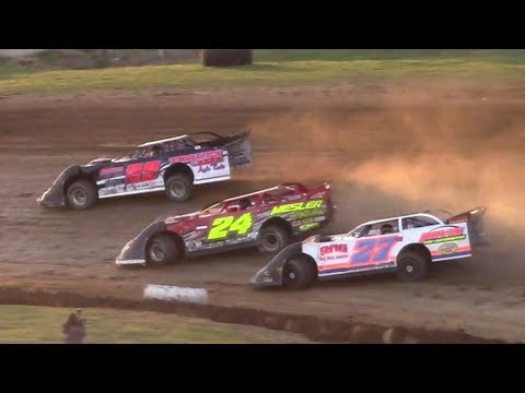 RUSH Crate Late Model Heat Three | McKean County Raceway | 9-30-17