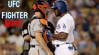 MLB | Yasiel Puig is a UFC Player? -  Fights