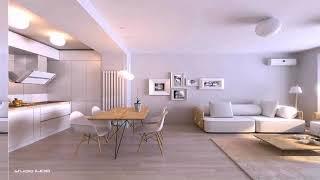 Small Apartment With Modern Minimalist Interior Design Ideas