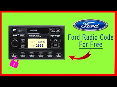 Ford Radio Code | Get It For Free