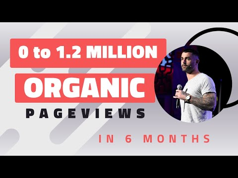 0 to 1.2 MILLION Organic Pageviews - Ryan Stewart Keynote -
