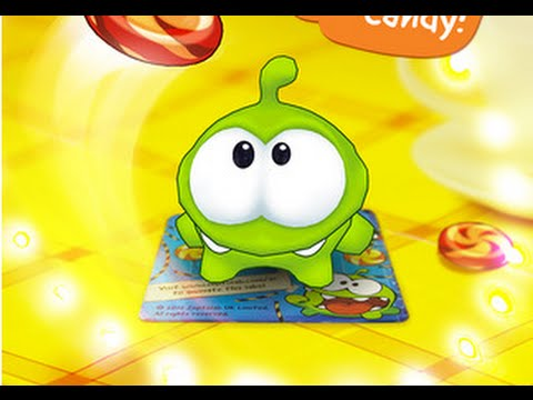 Om Nom in 3D! Candy Flick - Cut the Rope - best app games