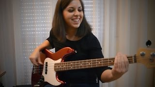 Bruno Mars 24k Magic Bass Cover
