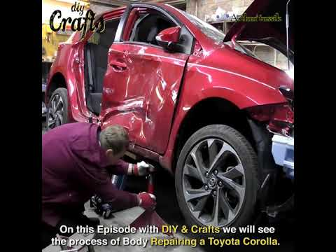 TOYOTA Corolla body repair…awesomea