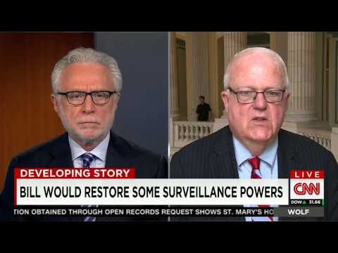 Crime, Terrorism, and Homeland Security Chairman Jim Sensenbrenner Discusses #USAFreedomAct on CNN