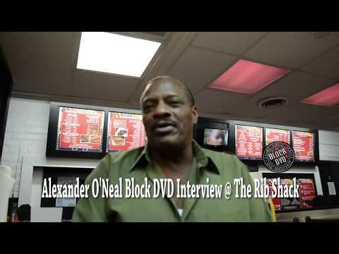 Alexander O'Neal Block DVD Interview @ Rib Shack