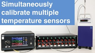 How to simultaneously calibrate multiple temperature sensors | Efficient...