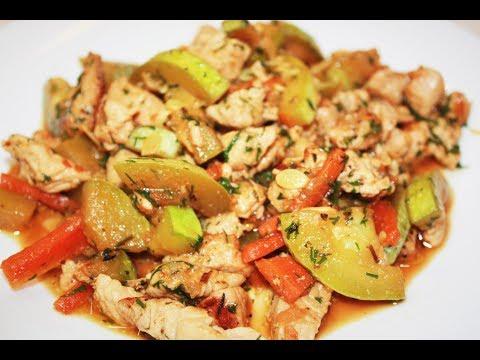 Рагу из овощей и мяса. Диетическое рагу рецепт