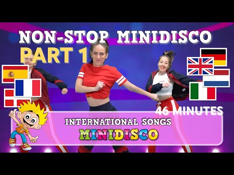 Children's Songs | NON-STOP MINIDISCO – PART 1 | International | Dance | Video | Mini Disco