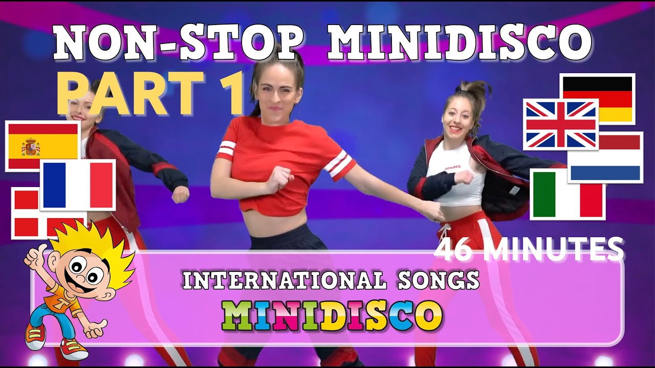 Children's Songs | Dance | Video | MINI DISCO 2018 | Non-Stop |  INTERNATIONAL | Mini Disco