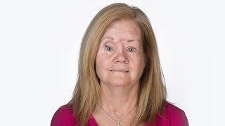 Brenda reveals her innovative, new prosthetic eye for the first time