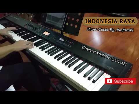 Indonesia Raya piano cover - instrumental by junfarabi