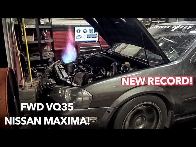 Fastest NISSAN MAXIMA makes 700+ WHP! | FWD VQ35 | MK MEDIA